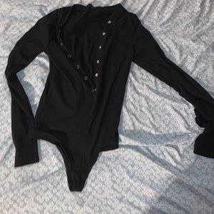 Long sleeve black body suit- Never worn